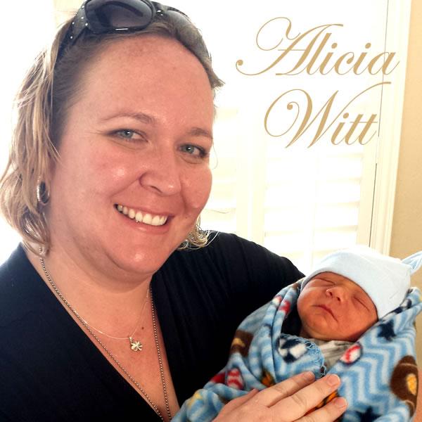 Alicia Witt doula